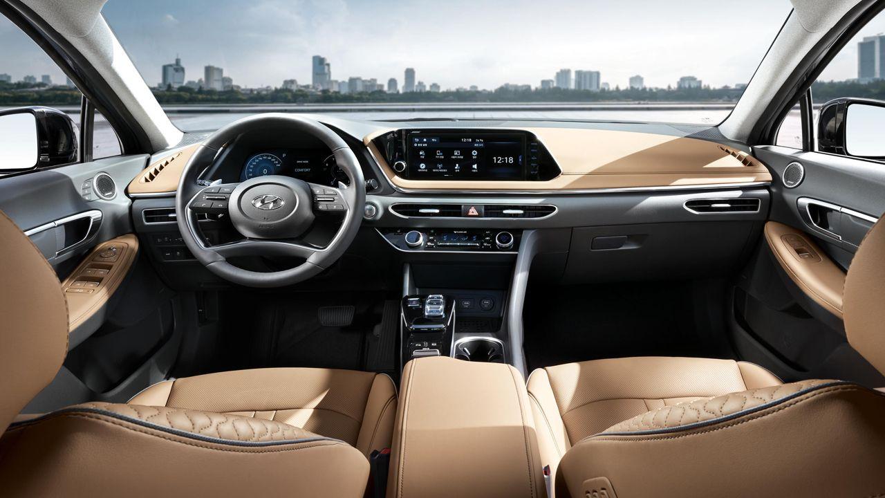 Interior del nuevo Hyundai Sonata