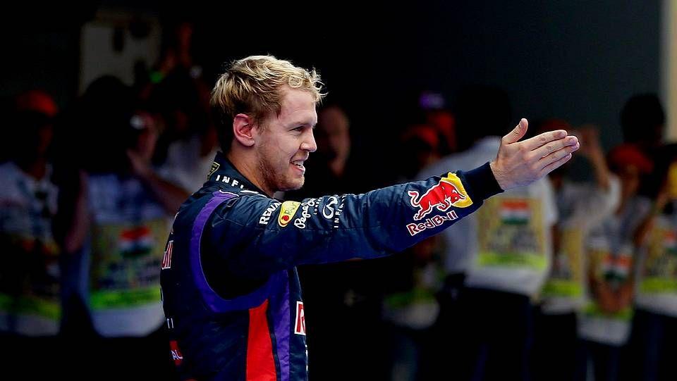El Gran Premio de La India, en fotos.Massa, en su despedida de Ferrari