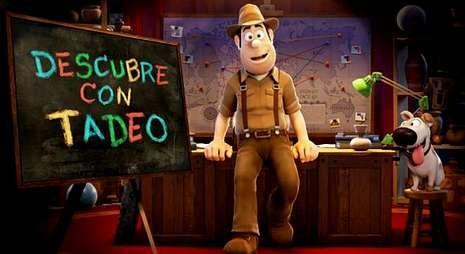 Tadeo Jones protagonizó la película española de animación más vista, y ahora llega a la televisión.