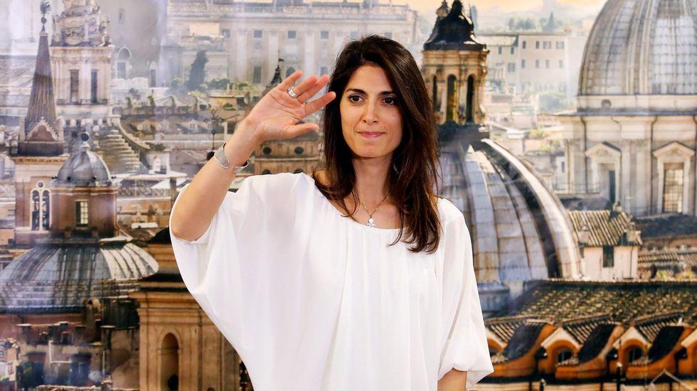 La alcaldesa de Roma, Virginia Riggi.