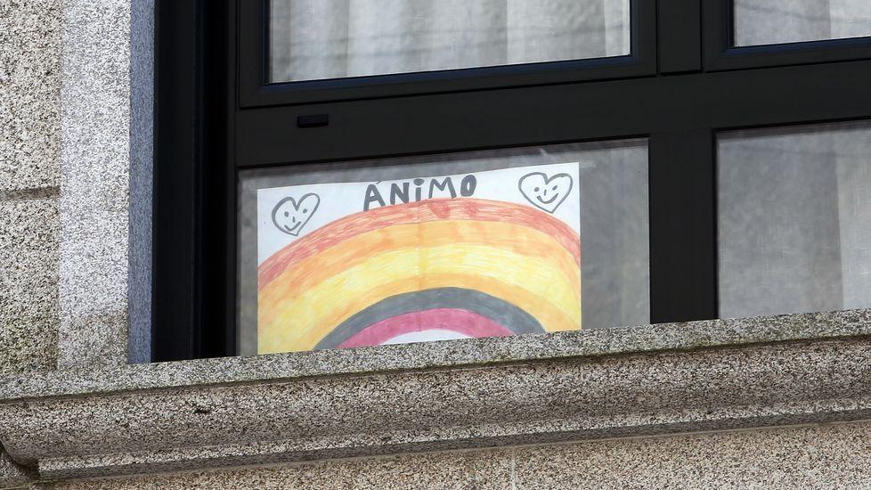 Creatividad en las ventanas de Pontevedra