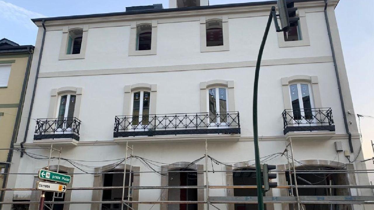 Primer adelanto de  Live is Life .Fachada principal del futuro hotel Casa do Estanco, un edificio que fue construido originalmente en la década de 1930