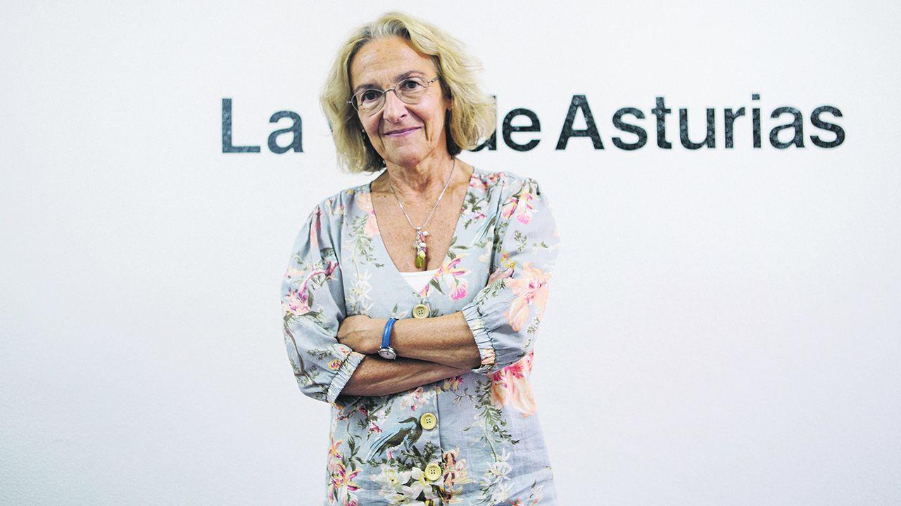 Paz Andrés, catedrática de la Universidad de Oviedo