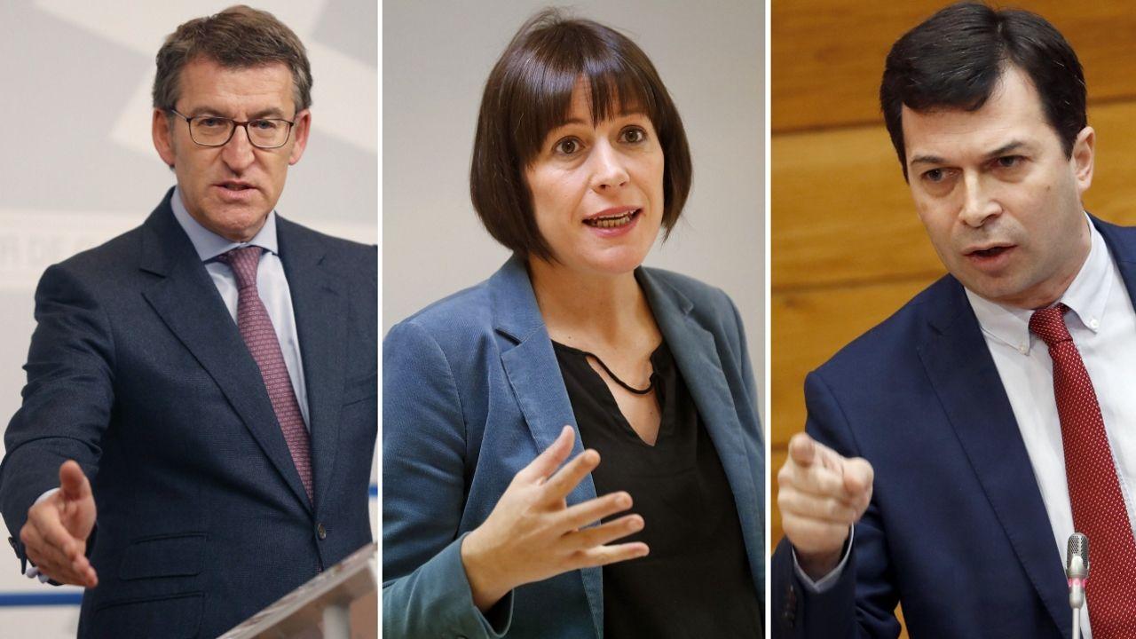Acto del PPdeG en Vigo para la campaña electoral del 2016