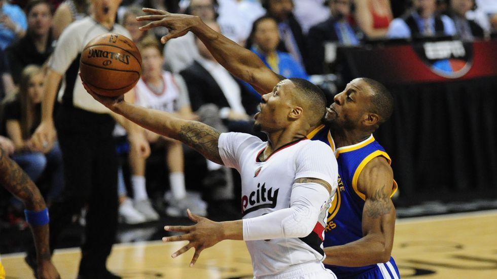 Curry, tras su exhibición en Portland