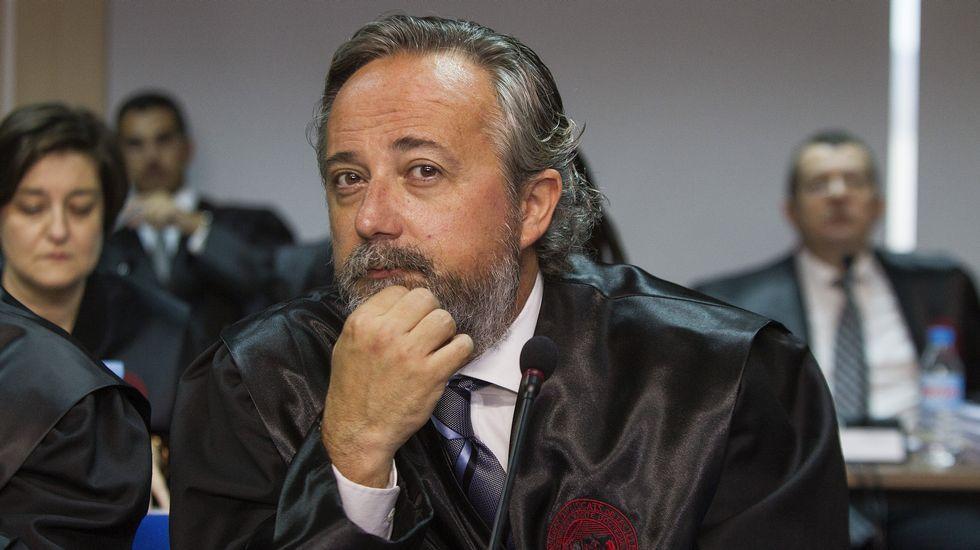 Gaspar Oliver Servera Cereceda, abogado defensor de Gonzalo Bernal García y Miguel Angel Bonet Fiol.