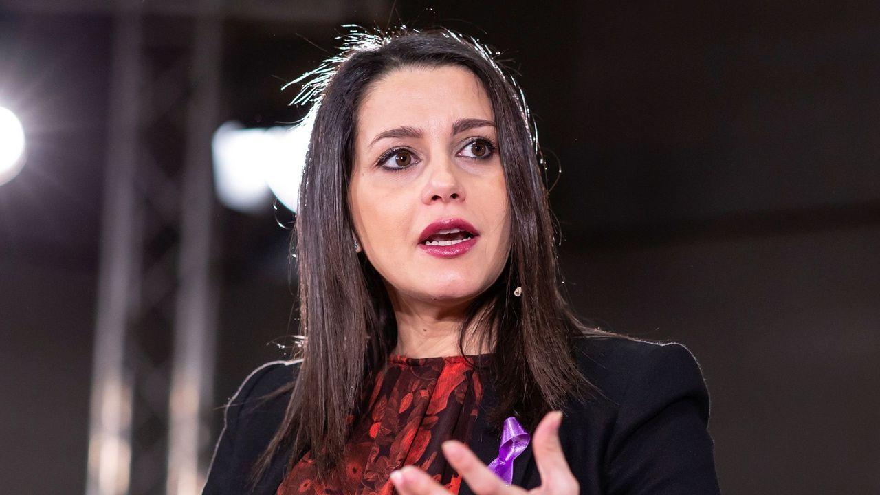 Inés Arrimadas, en un encuentro organizado por Ciudadanos en Málaga
