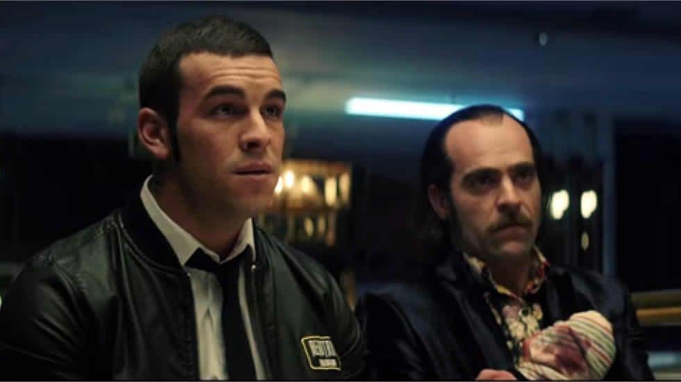 Nuevo tráiler de «Toro».El director Carles Torras, junto a los actores Martín Bacigalupo y Timothy Gibbs.