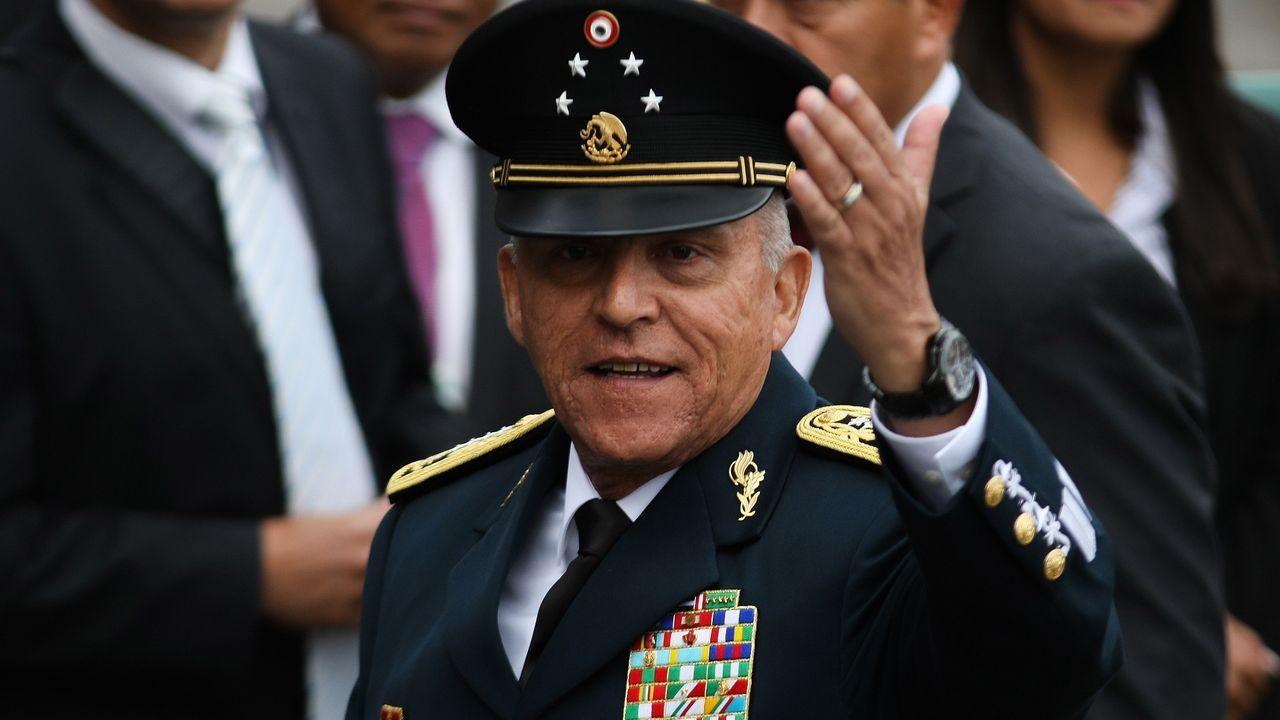 Salvador Cienfuegos, exministro de Defensa mexicano, en una imagen de archivo