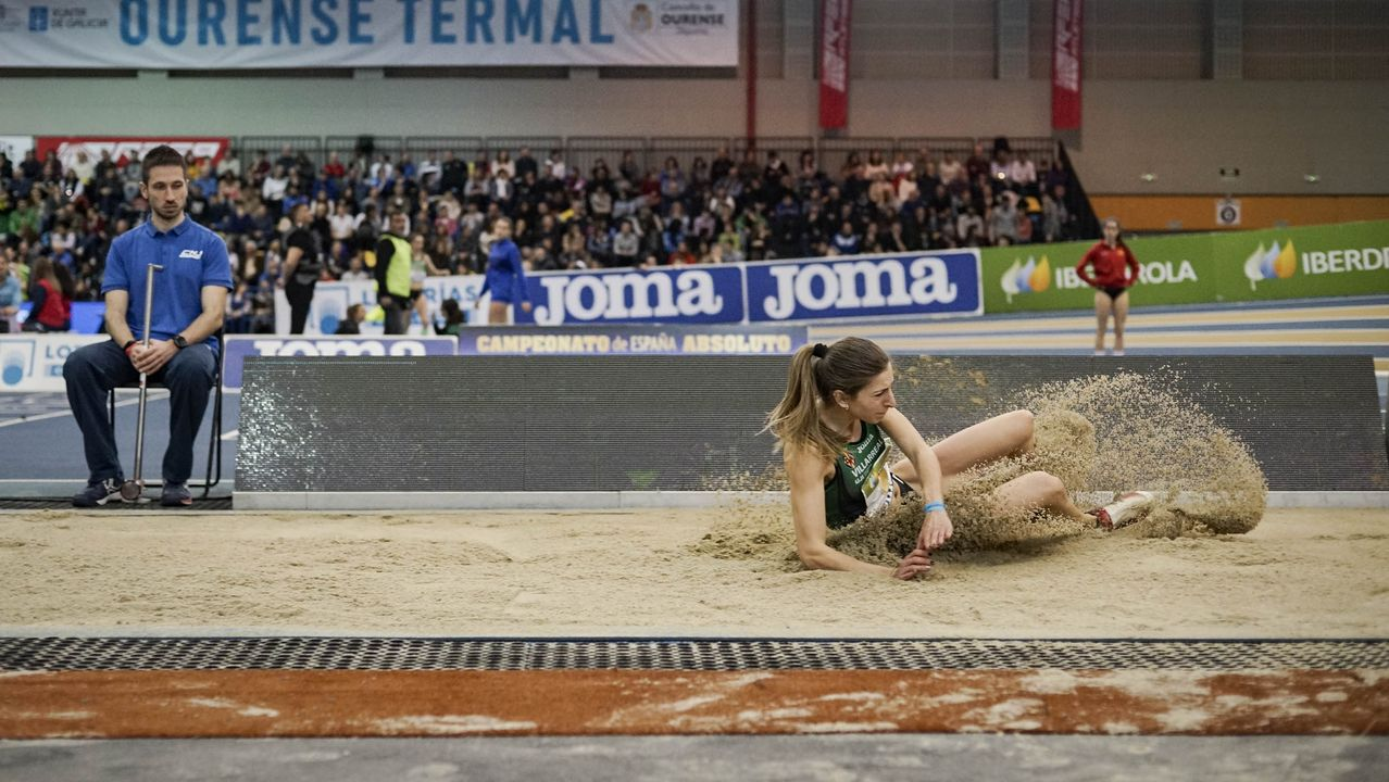 El Campeonato de España de Atletismo invade Ourense .Un espectacular ambiente rodeó a los primeros títulos absolutos de pista cubierta que se dirimieron en Expourense