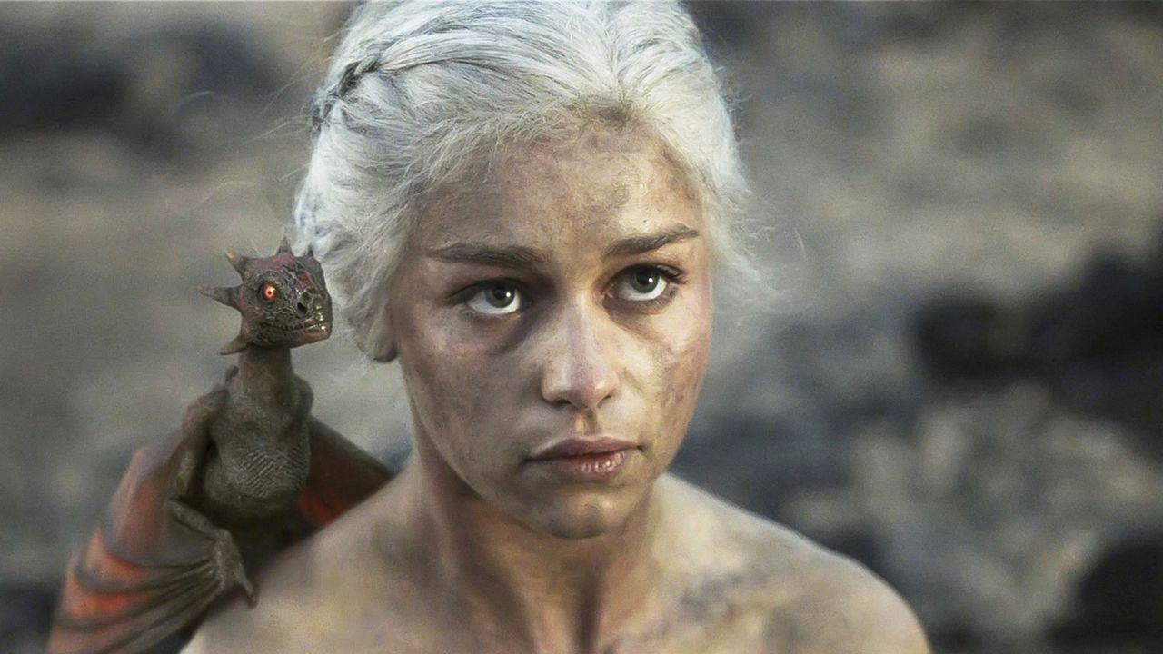 La actriz Emilia Clarke
