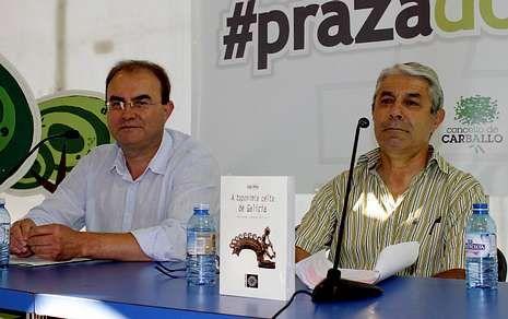 Las mejores fotos de la naturaleza.Varela e Cabeza Quiles, na presentación de «A toponimia celta de Galicia» na Praza dos Libros.