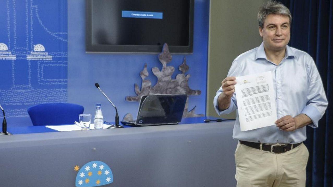 Policarpo Sánchez, presidente de la asociación «Salvar el Archivo de Salamanca»
