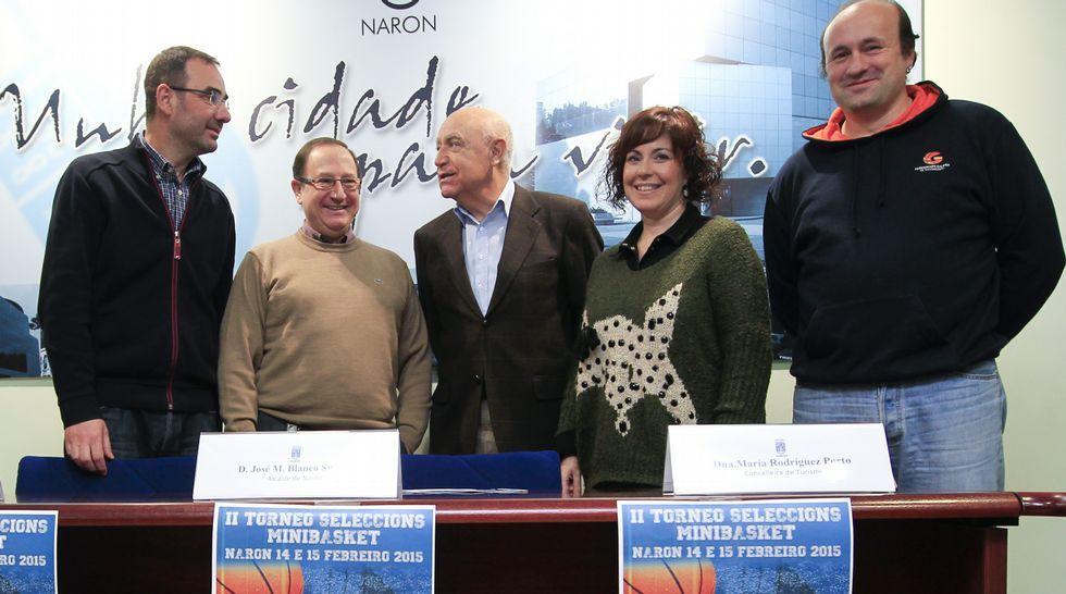El torneo se presentó ayer en el Concello de Narón.