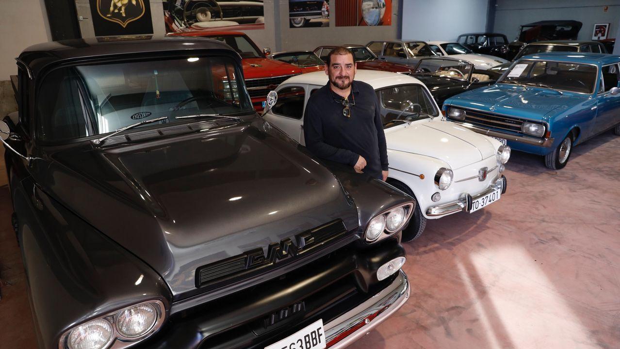 La empresa de Friol Bullcars Classic.Fernando Alonso