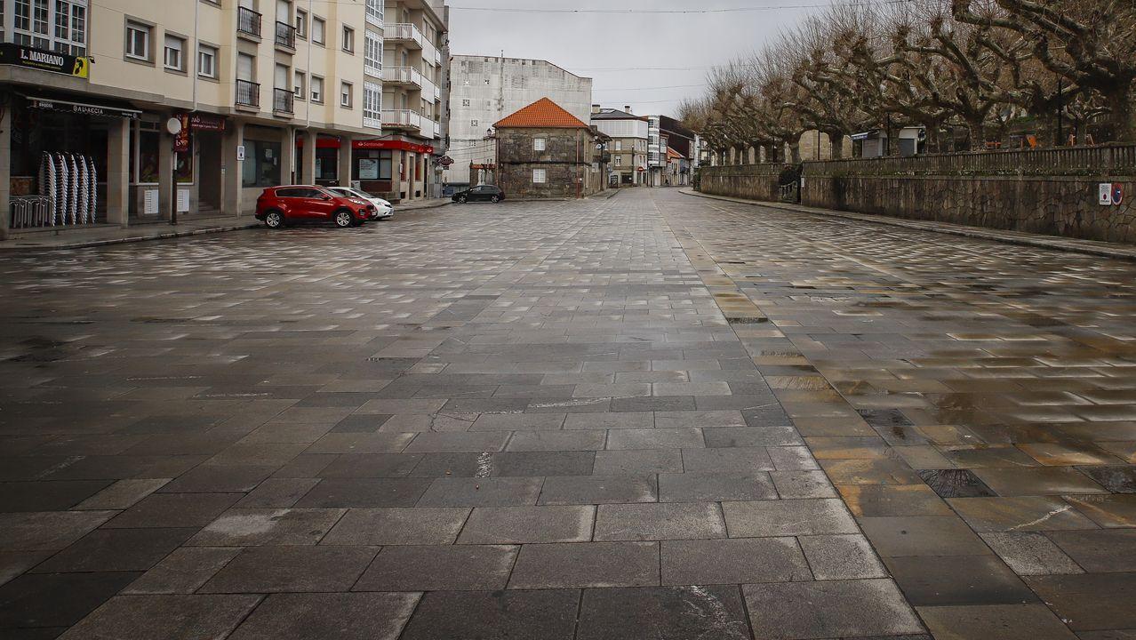 Calles vacias tras el decreto del estado de alerta