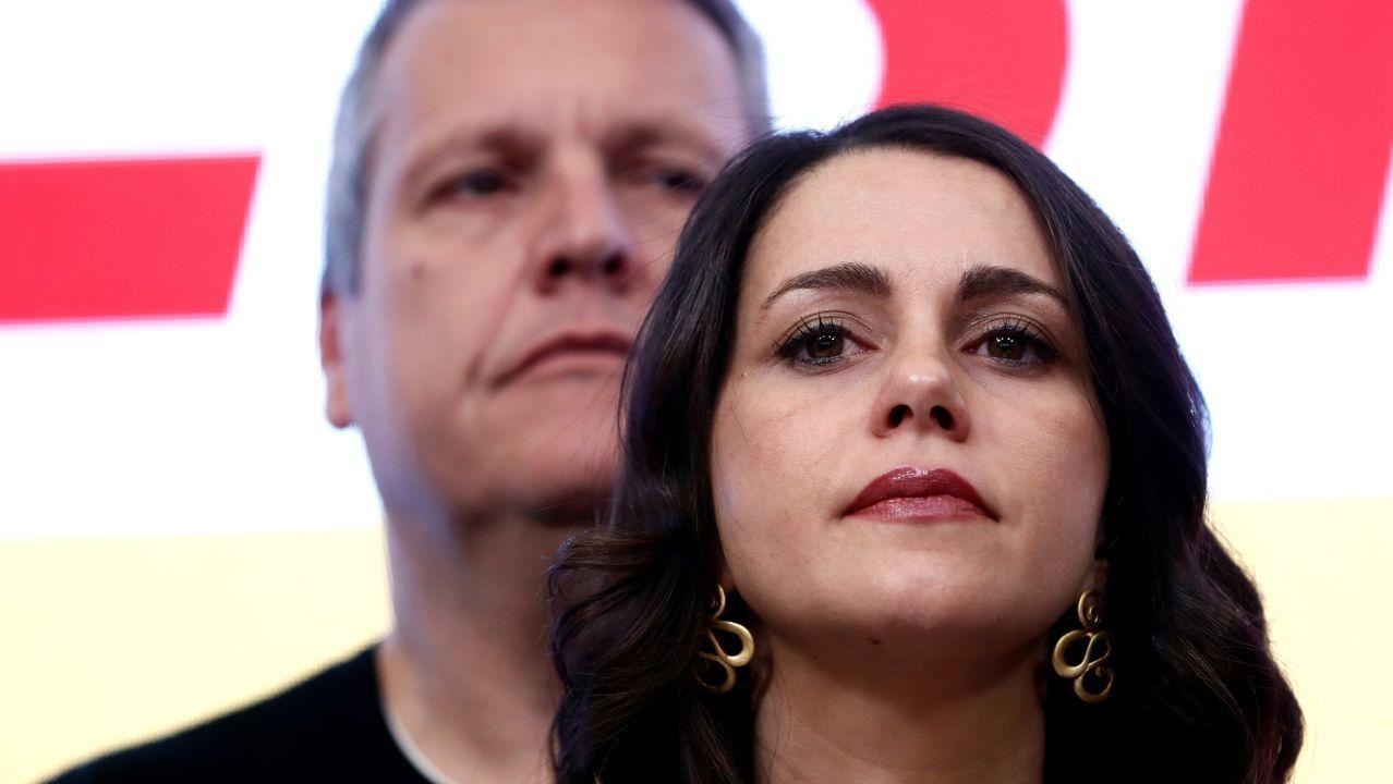 Inés Arrimadas, tras conocerse el domingo los resultados de Ciudadanos en las elecciones generales