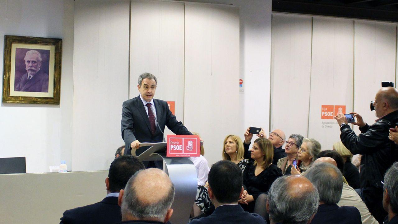 Entrega del premio Pura Tomás a José Luis Rodríguez Zapatero
