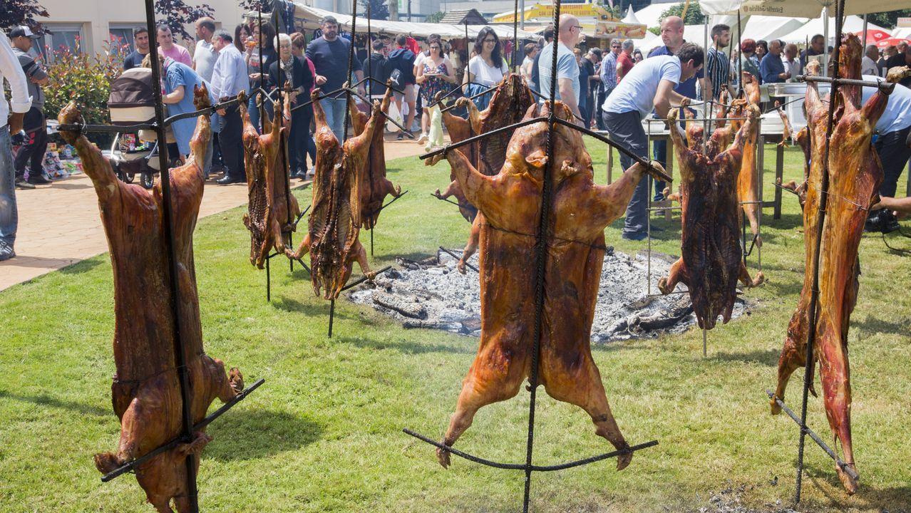 De Soraya a Kate Ryan: ¡festival de famosos en Cerceda! ¡Las fotos!