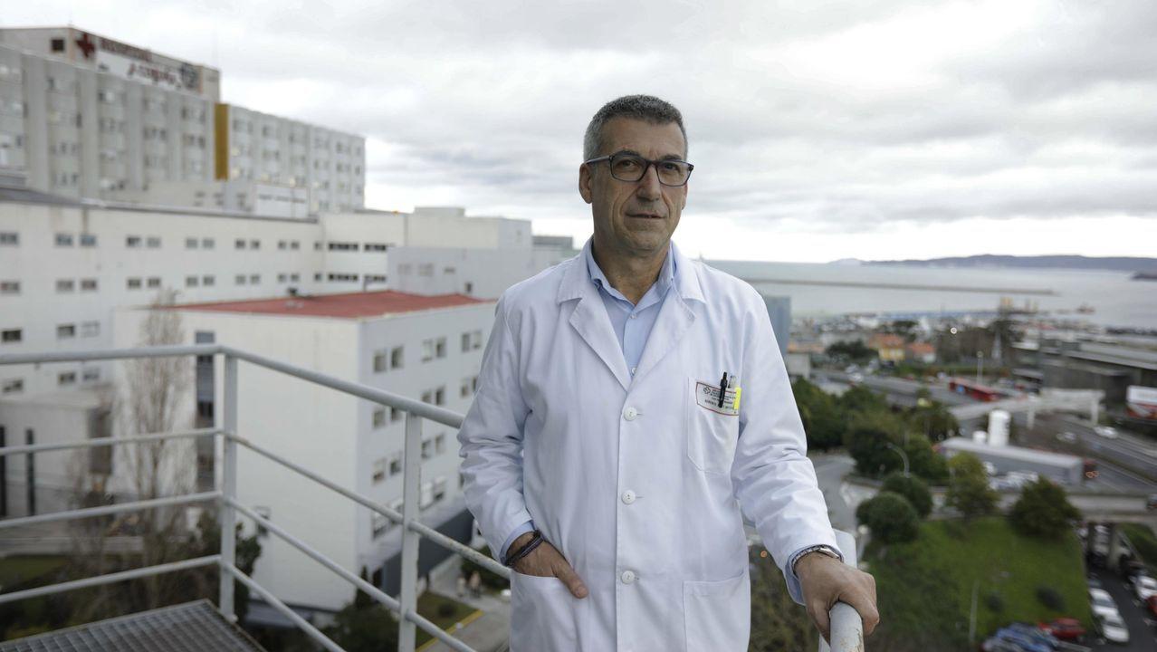 Luis Verde, gerente del Chuac