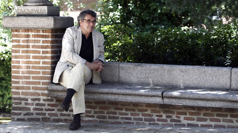 Andrés Trapiello, en Madrid, donde presentó su versión actualizada del Quijote