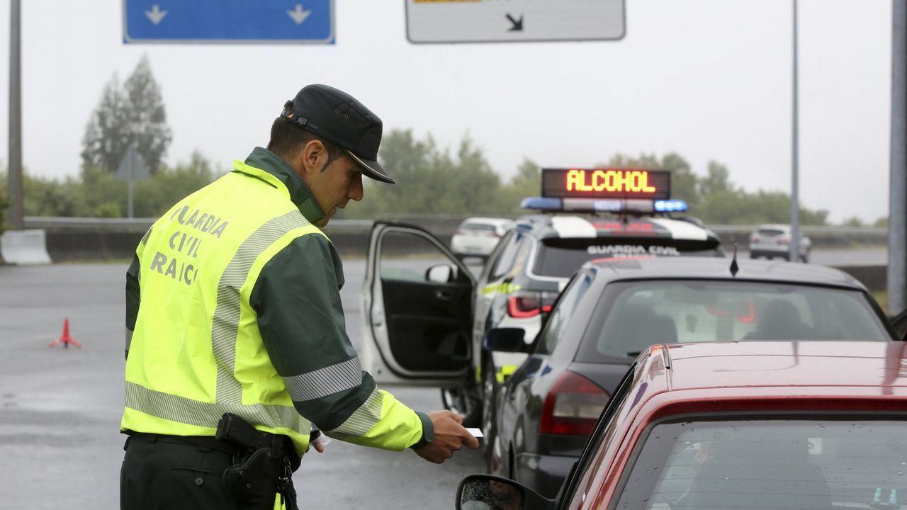 El fiscal de Tráfico de Galicia propone un carnet para bicis y patinetes eléctricos.Control de alcohol y drogas en la AP-9 a principios de junio