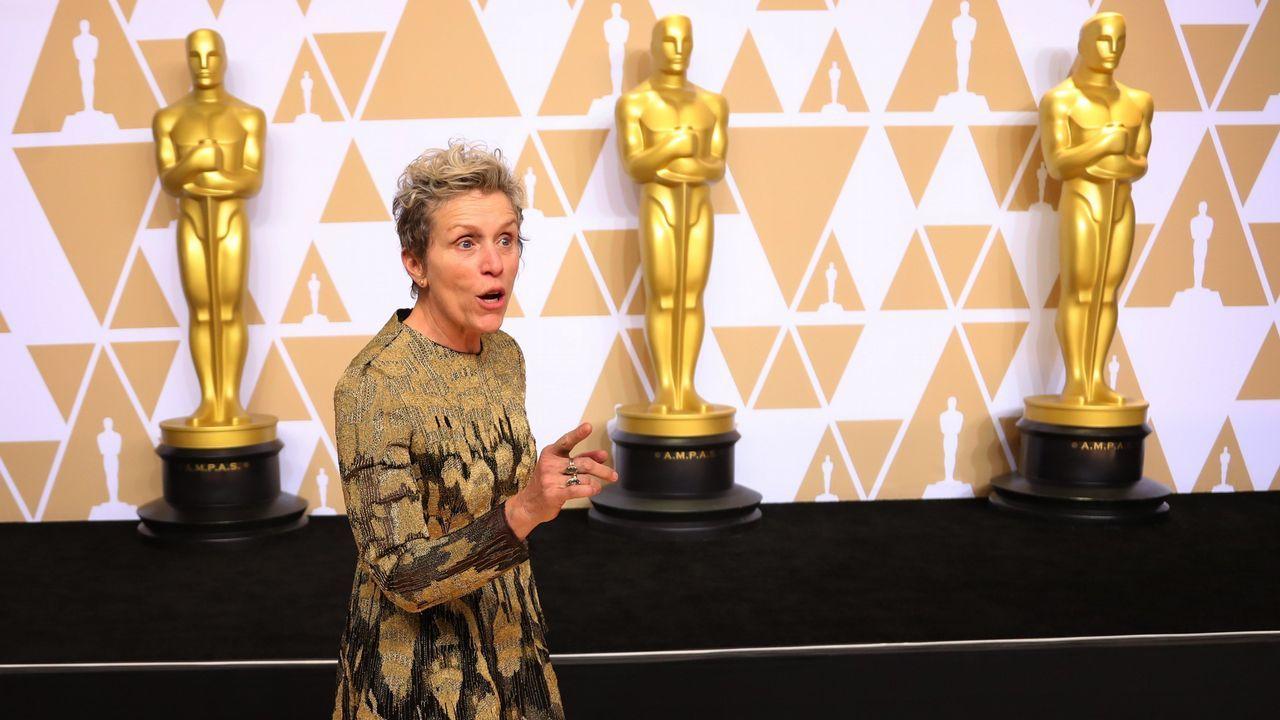 Frances McDormand mejor actriz por «Tes anuncios en las afueras»