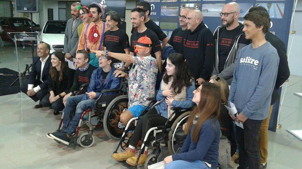 Imagen de los ganadores del concurso #CorazónAdarsa.Imagen de los ganadores del concurso #CorazónAdarsa