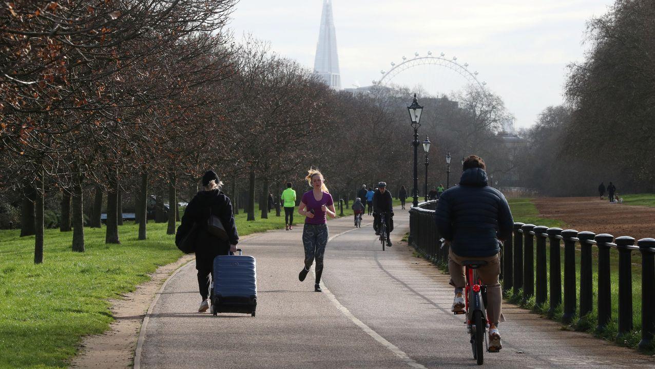 Una imagen de Hyde Park este viernes