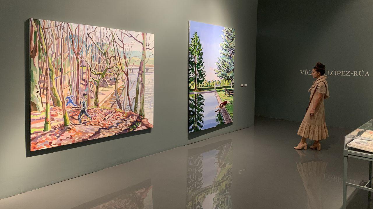 Obras de López-Rúa en el Centro Cultural de España en México