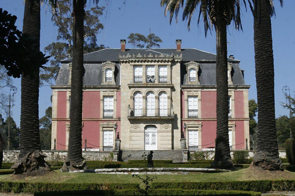 La mansión fue construida a finales del siglo XIX.