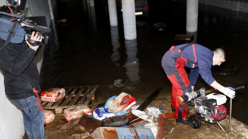 Así quedó Redondela tras las inundaciones