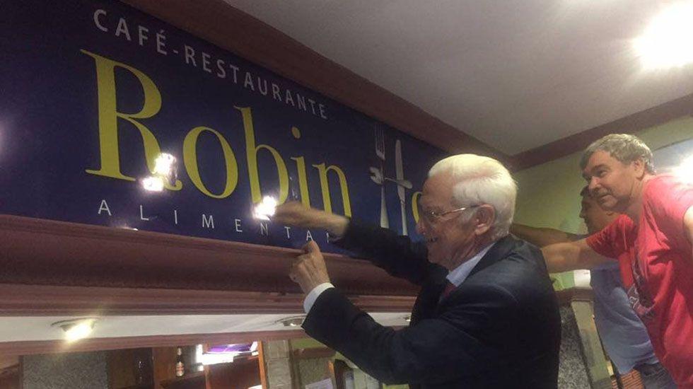 Restaurante de la cadena Robin Hood en Madrid.Restaurante de la cadena Robin Hood en Madrid