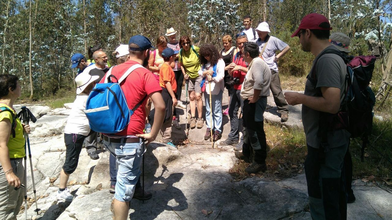 Inscripción en la ruta de senderismo hasta el Marco do Salto
