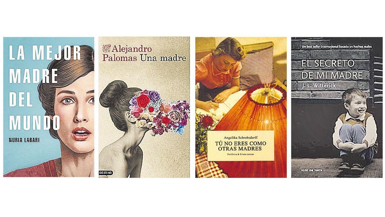 Borja Quiza: «Por mi cumpleaños me dejaron tres centollos en la puerta».Selección de novelas para celebrar la figura de la madre