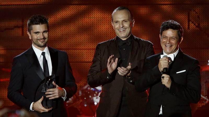 Entrega del premio «Persona del Año».La cantante Laura Pausini durante un concierto en Las Vegas
