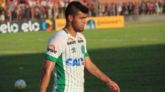 Martín Alaníz en el Chapecoense