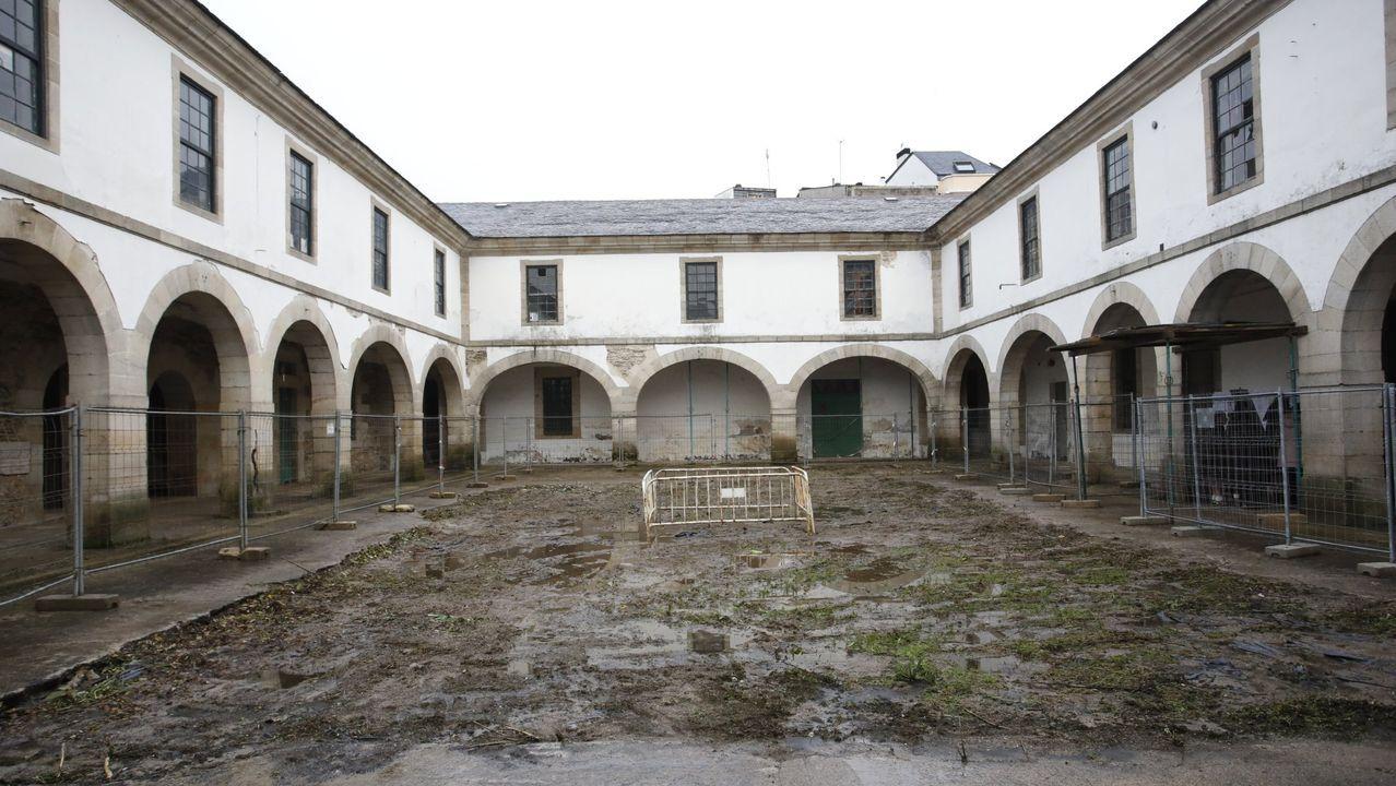 Patio del cuartel de San Fernando