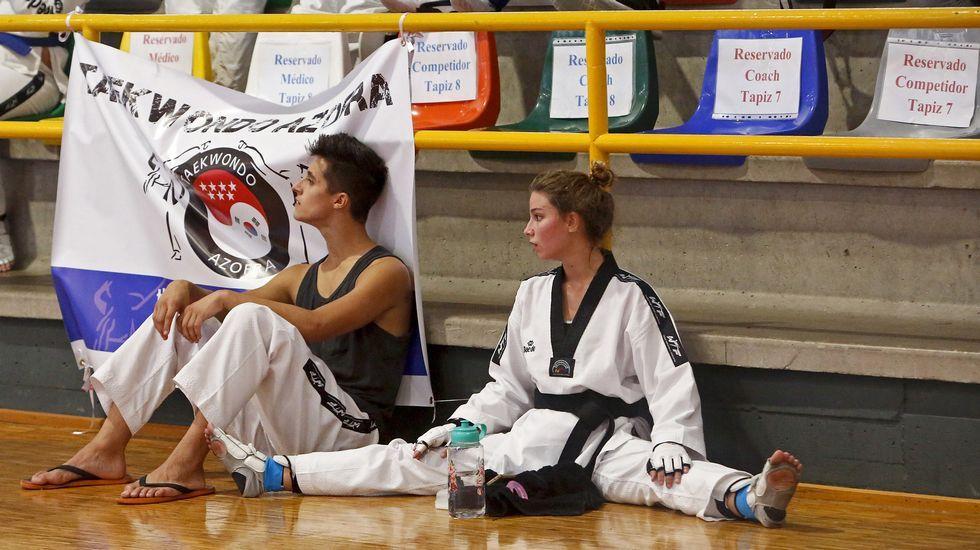 Campeonato internacional de taekwondo.Primera foto oficial de la Princesa de Asturias, coincidiendo con la celebración de su 12 cumpleaños