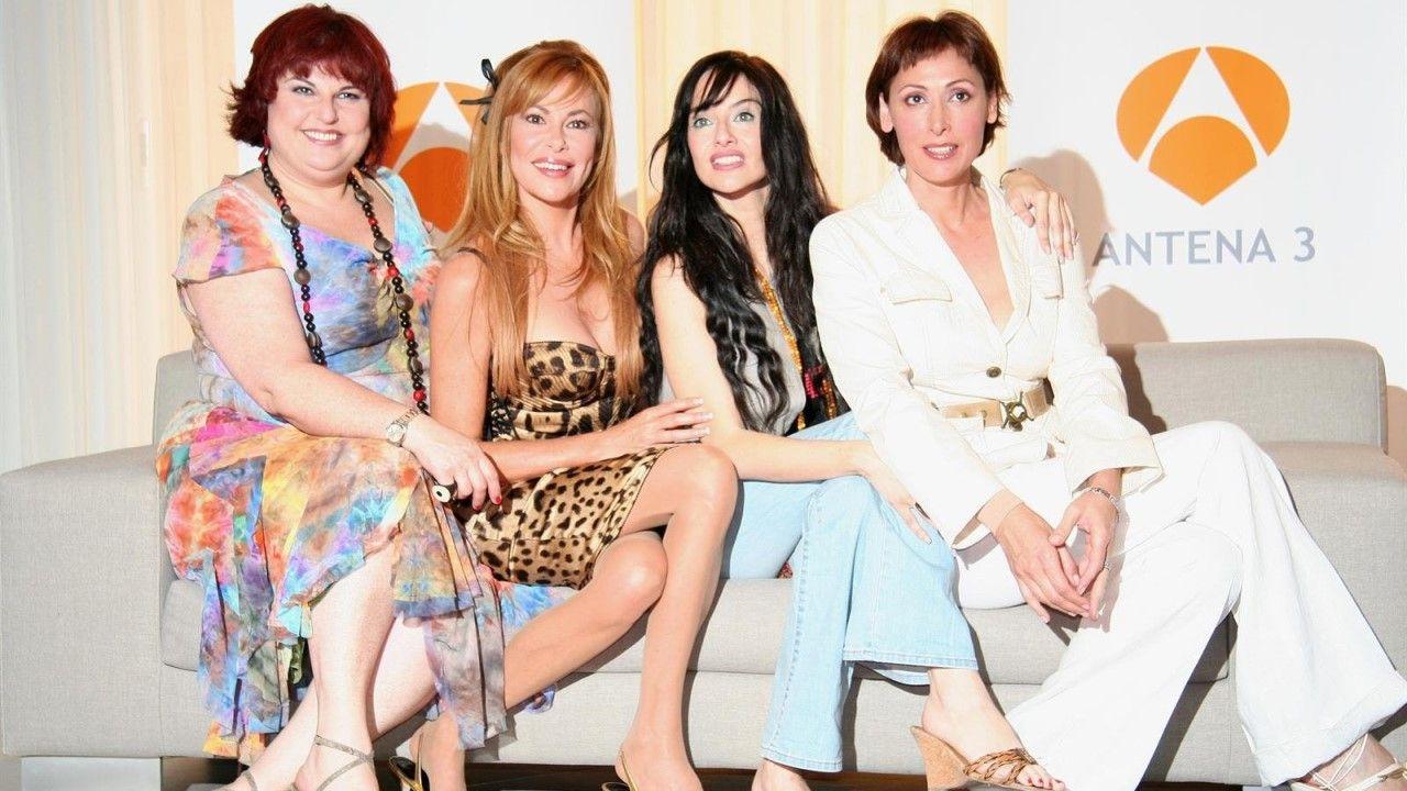 María Barranco, Ana Obregón, Beatriz Rico y Teté Delgado, protagonistas de «Elllas y el sexo débil»
