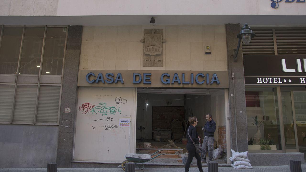 mas.La Casa de Galicia de Bilbao, en obras