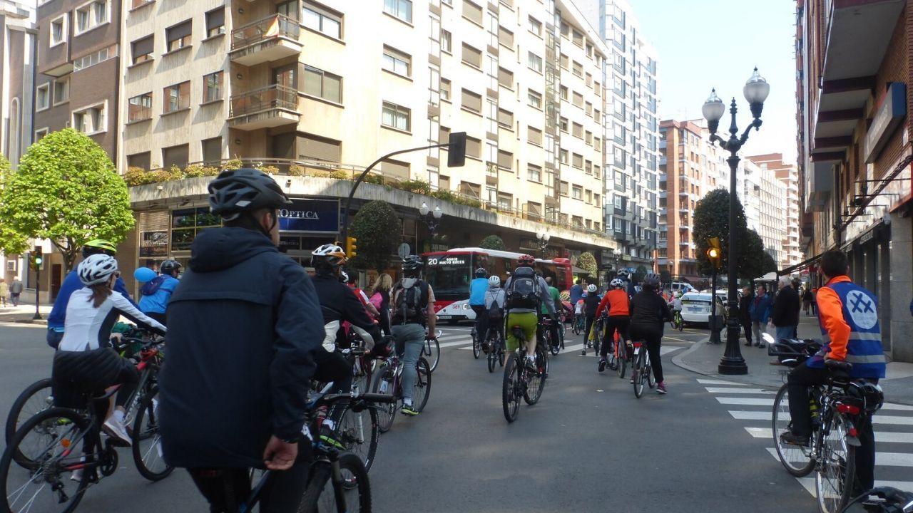 Bicicletada de 30 Días en Bici en Gijón