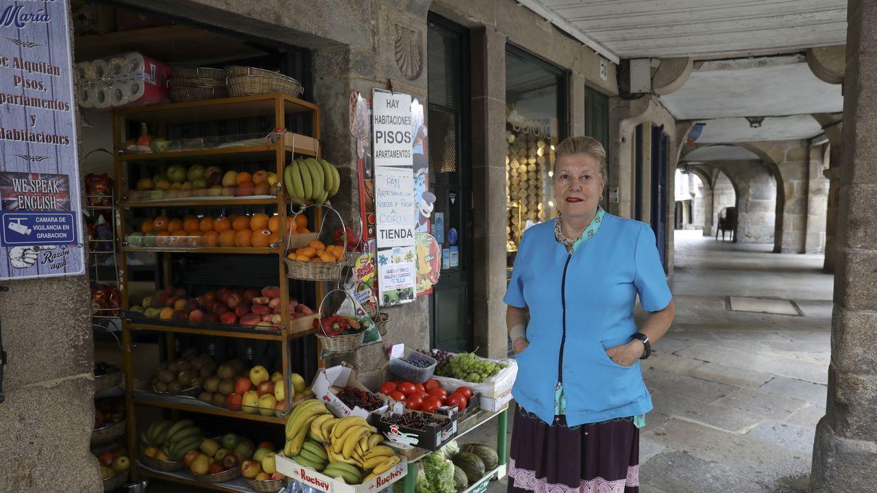 El belén artesanal de Valga en imágenes.Ciudadanos venezolanos hacen fila para recibir una ración de comida en un comedor en Cúcuta (Colombia)