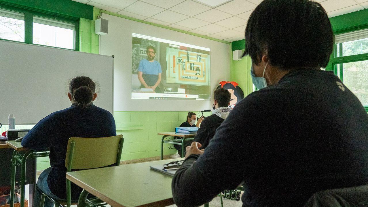 No corazón do Arquivo de Galicia.En torno a 1.900 estudantes participan nas 62 visitas didácticas