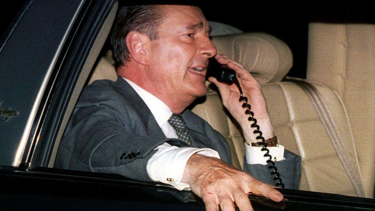 Jacques Chirac, en una imagen de archivo