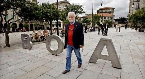 Murado, María Solar y David Pintor, en la mesa redonda sobre las letras gallegas.