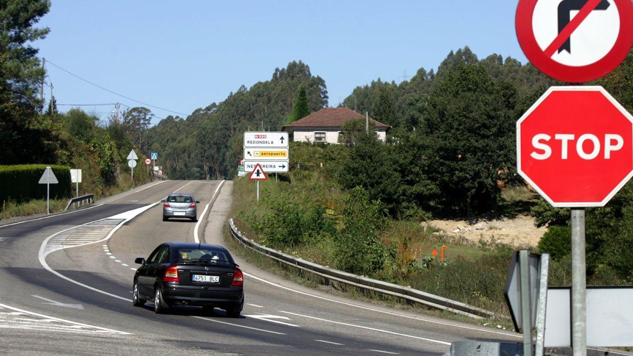 Imagen de archivo de la terminal de Lavacolla