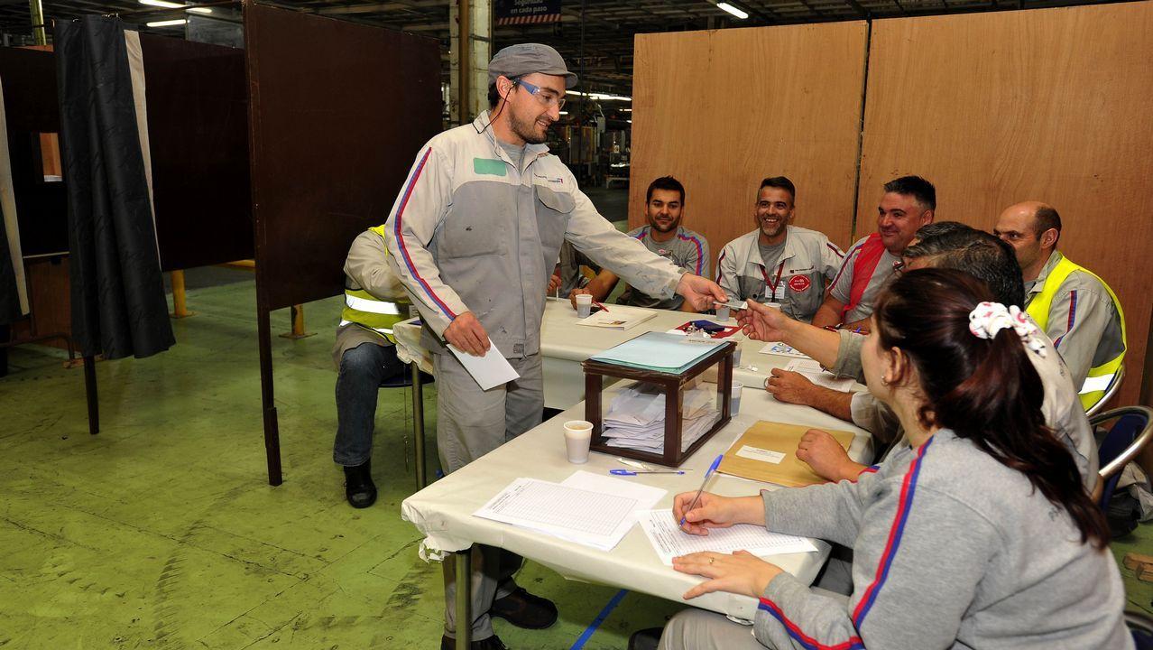jevaso.Imagen de archivo de votaciones sindicales en PSA