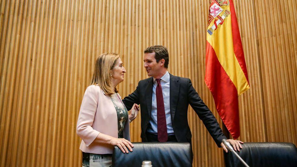 Ana Pastor y Casado.Oriol Junqueras (ERC). Busca diferenciarse de Junts desde el Congreso.