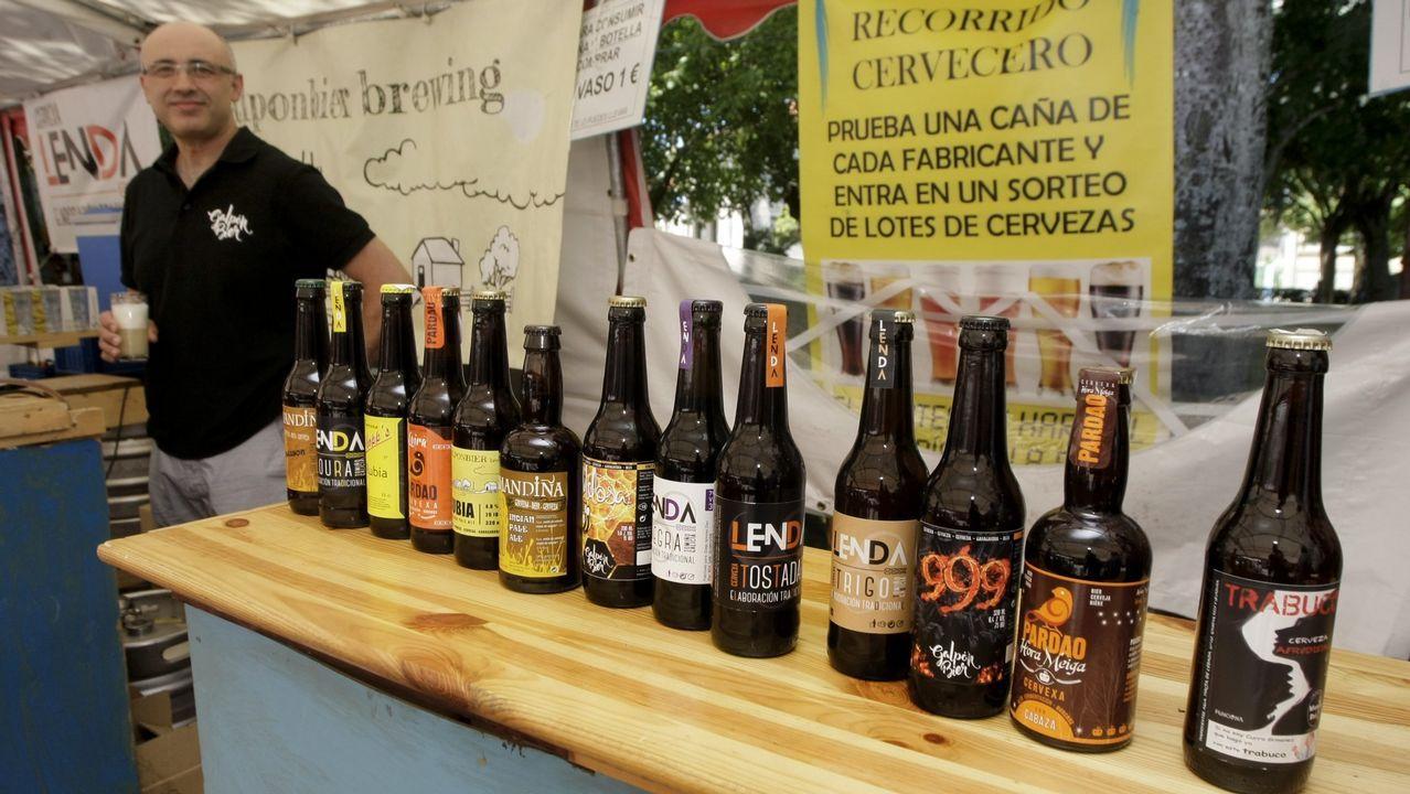 Exaltación de carne en Montederramo.El conselleiro de Cultura, Román Rodríguez, se entrevistó con los 21 alcaldes de Ribeira Sacra